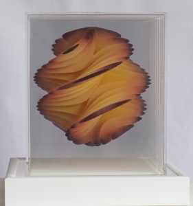 Honeycomb Perspex artwork